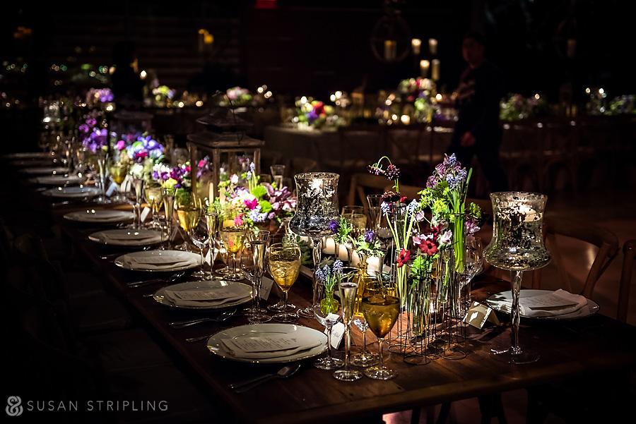 Kimmel Center Wedding reception room