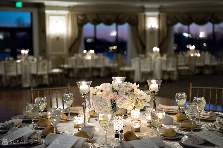 Oheka Castle wedding ballroom