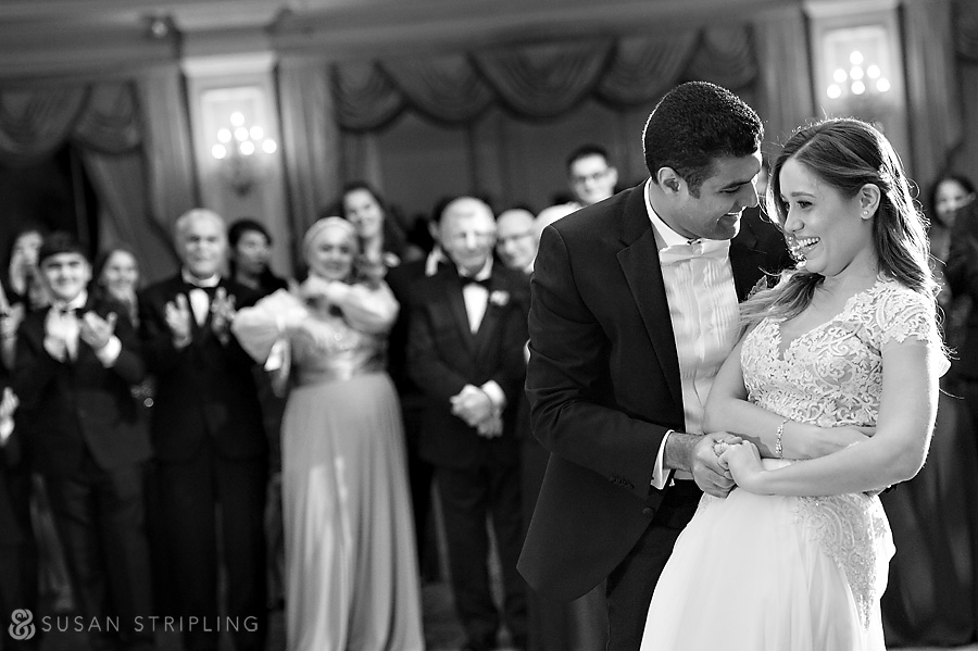 Oheka Castle wedding first dance