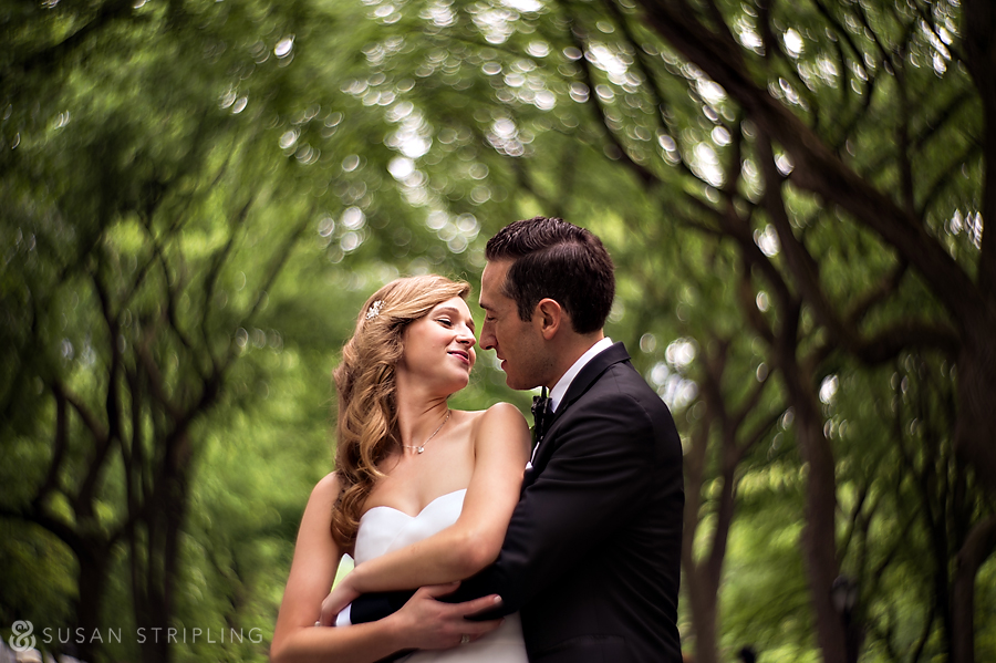Petzval lens wedding