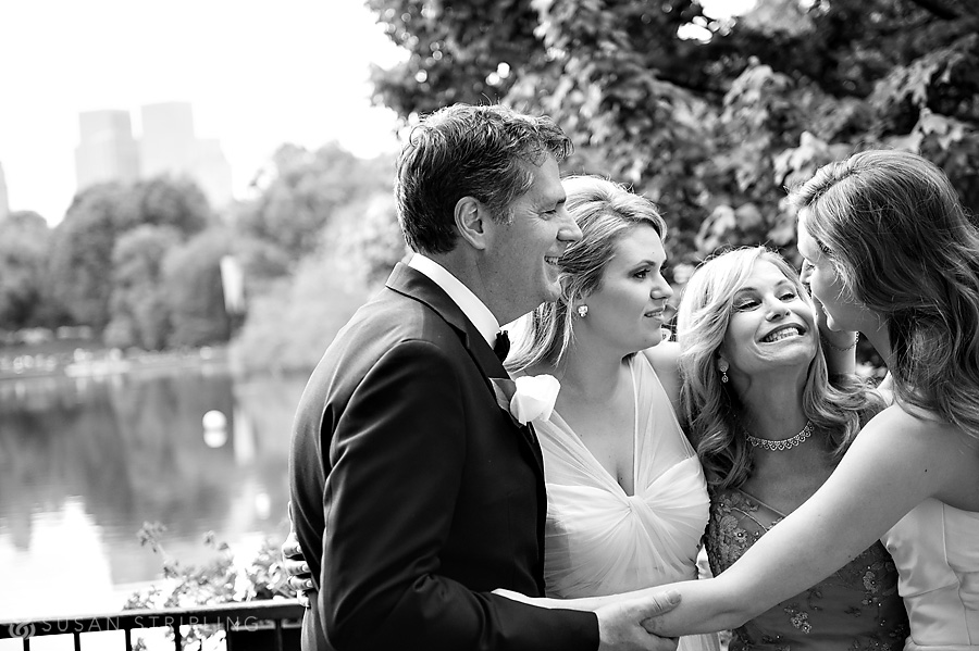 central park boathouse wedding images