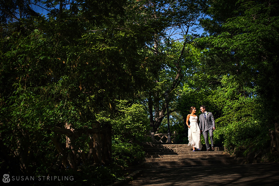 central park wedding location