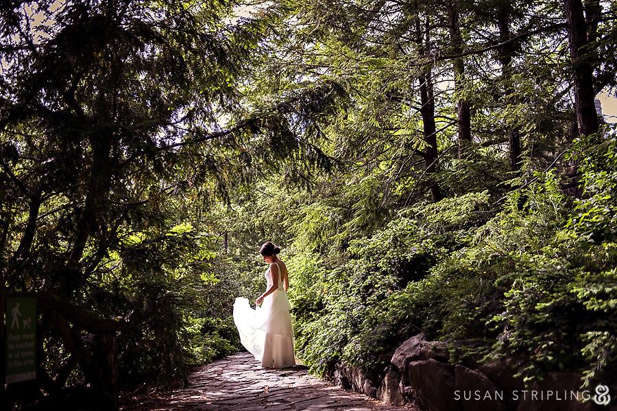 Central Park wedding spots