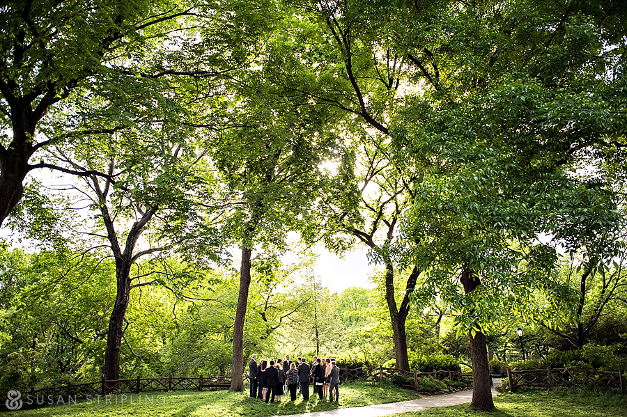 central park wedding photography permit