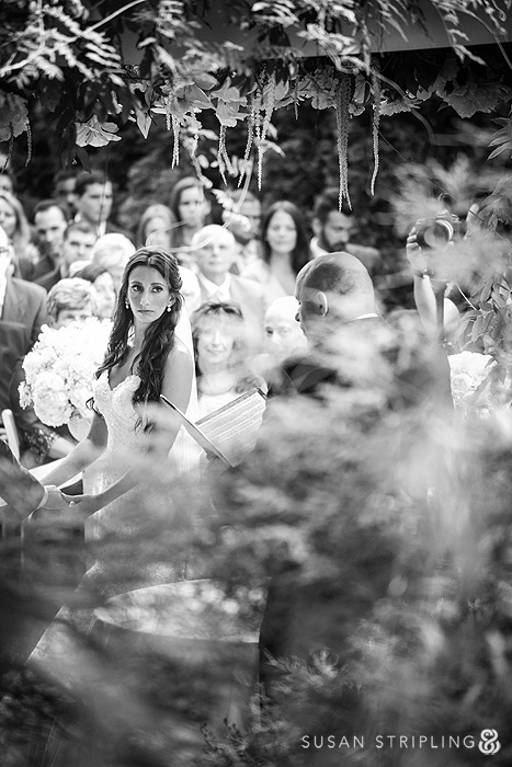 ceremony at a Fox Hollow wedding
