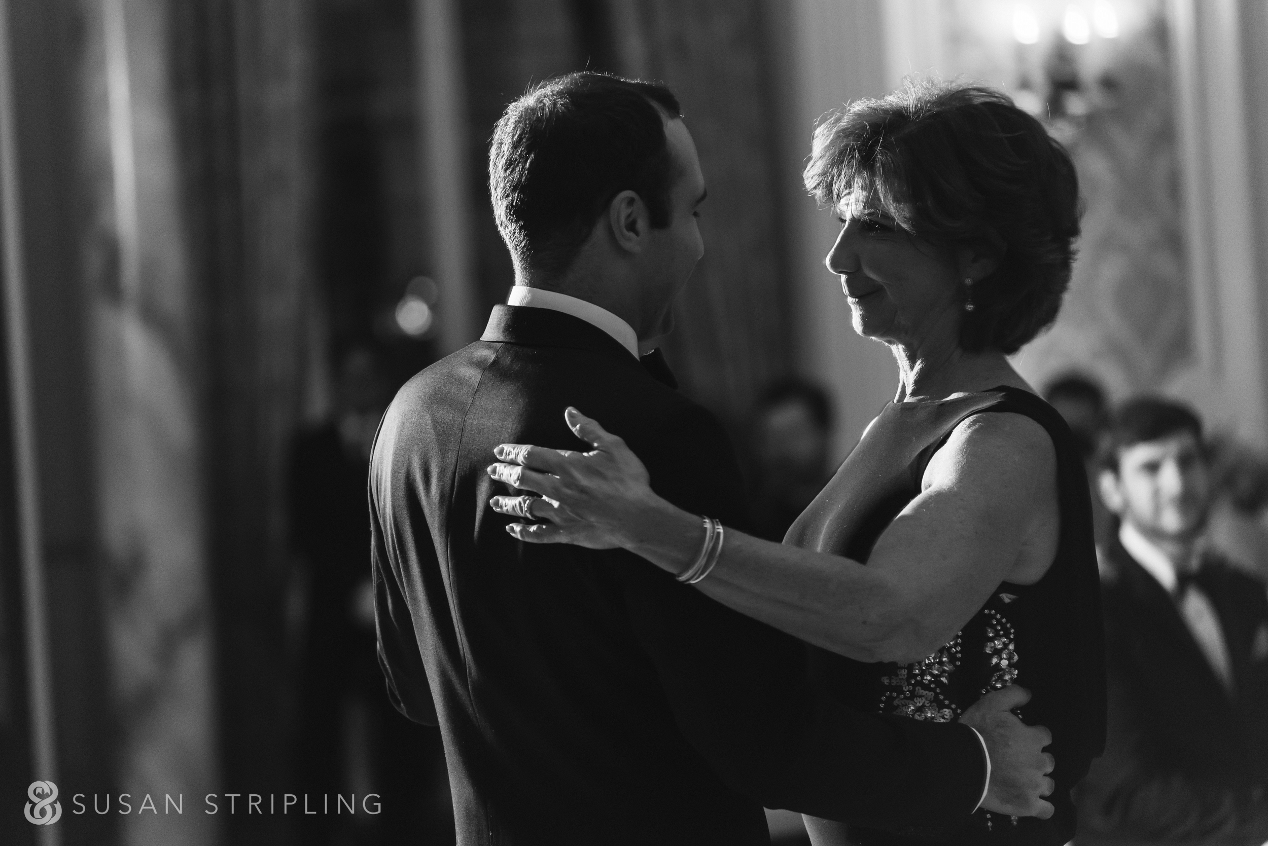 parent dance at a Pleasantdale Chateau wedding