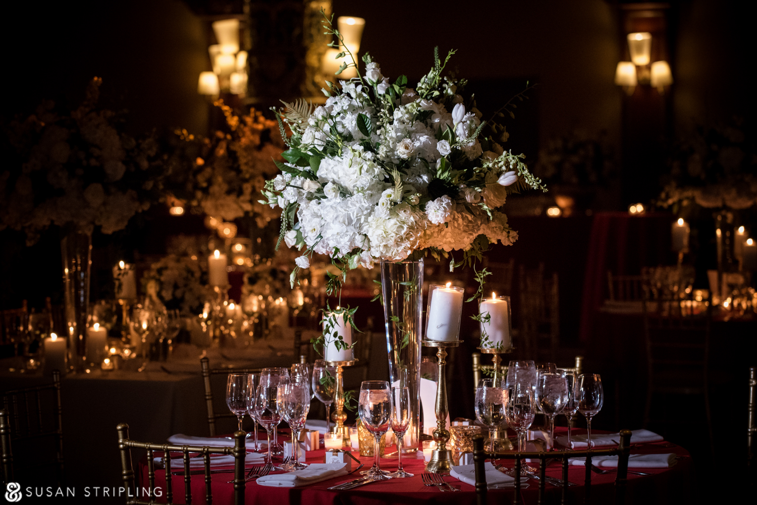 prince george ballroom wedding reception