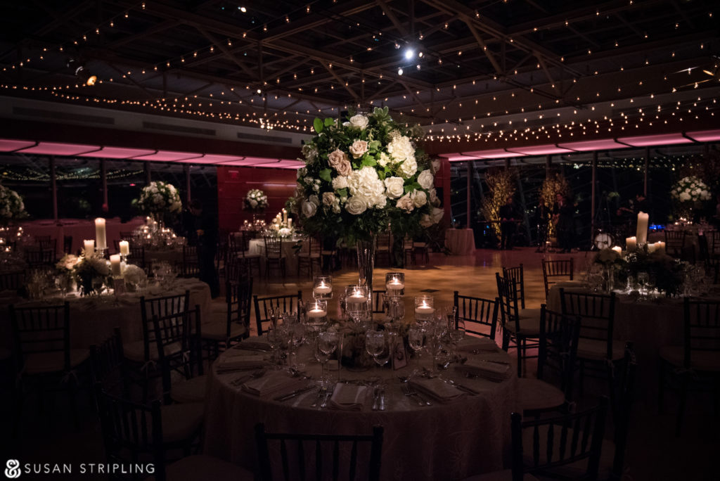 decor kimmel center wedding