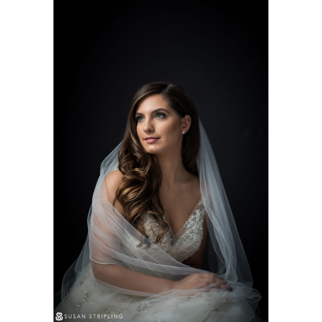 New York Bridal Portraits Modern Vanity Fair Style