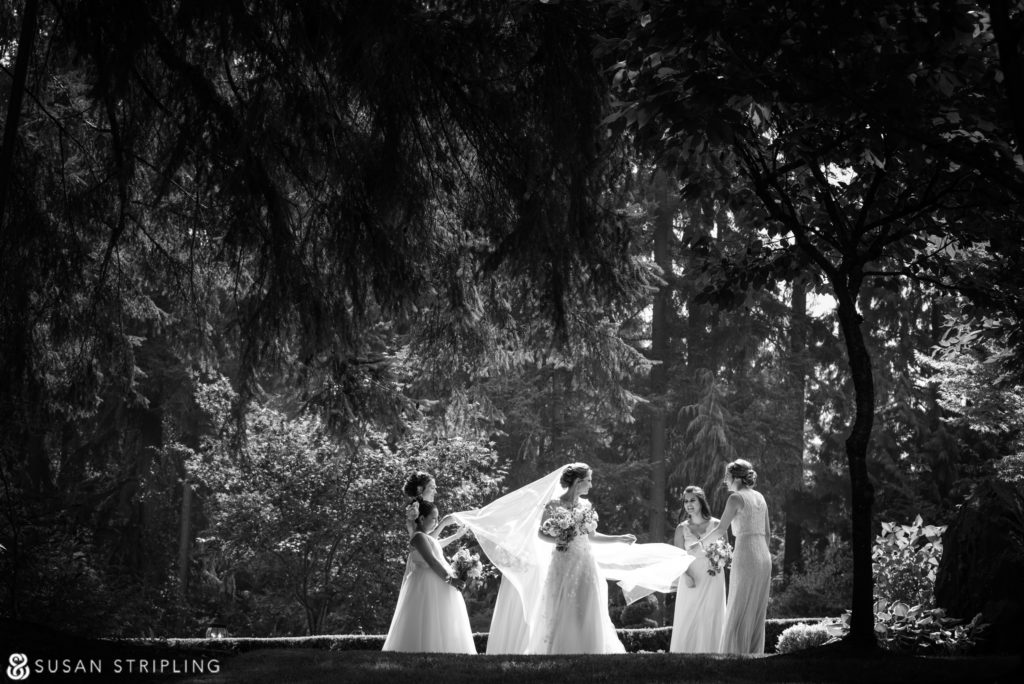 photos of a Wedding at Rock Creek Gardens