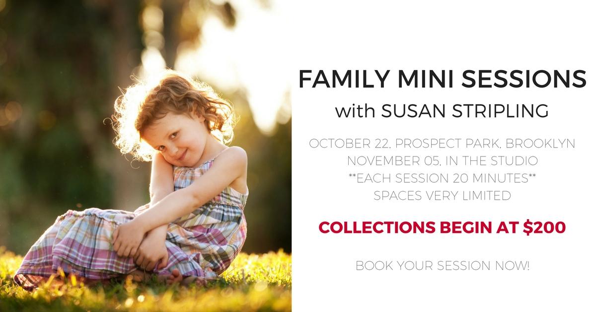 Fall Portrait Mini Sessions in Brooklyn