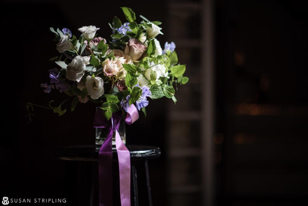 Wedding at Angel Orensanz flowers