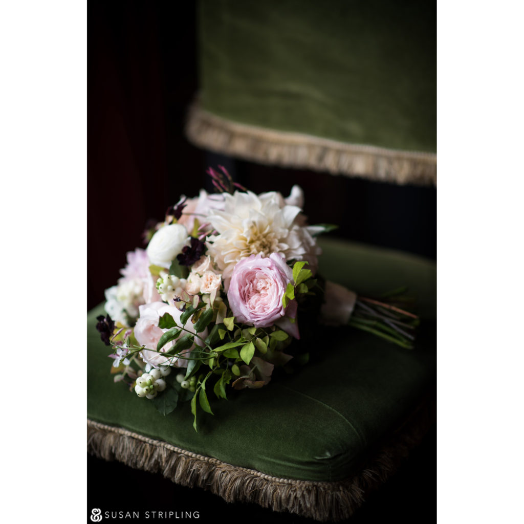 Wedding at the Gramercy Park Hotel bouquet