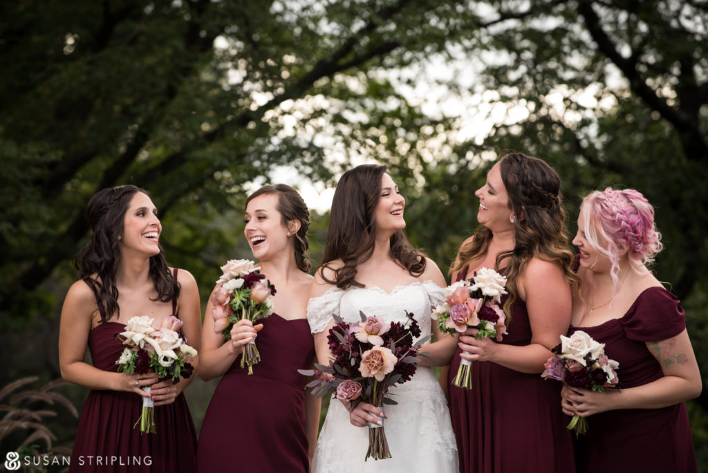 Fall Wedding at the Brooklyn Botanic Garden photographer