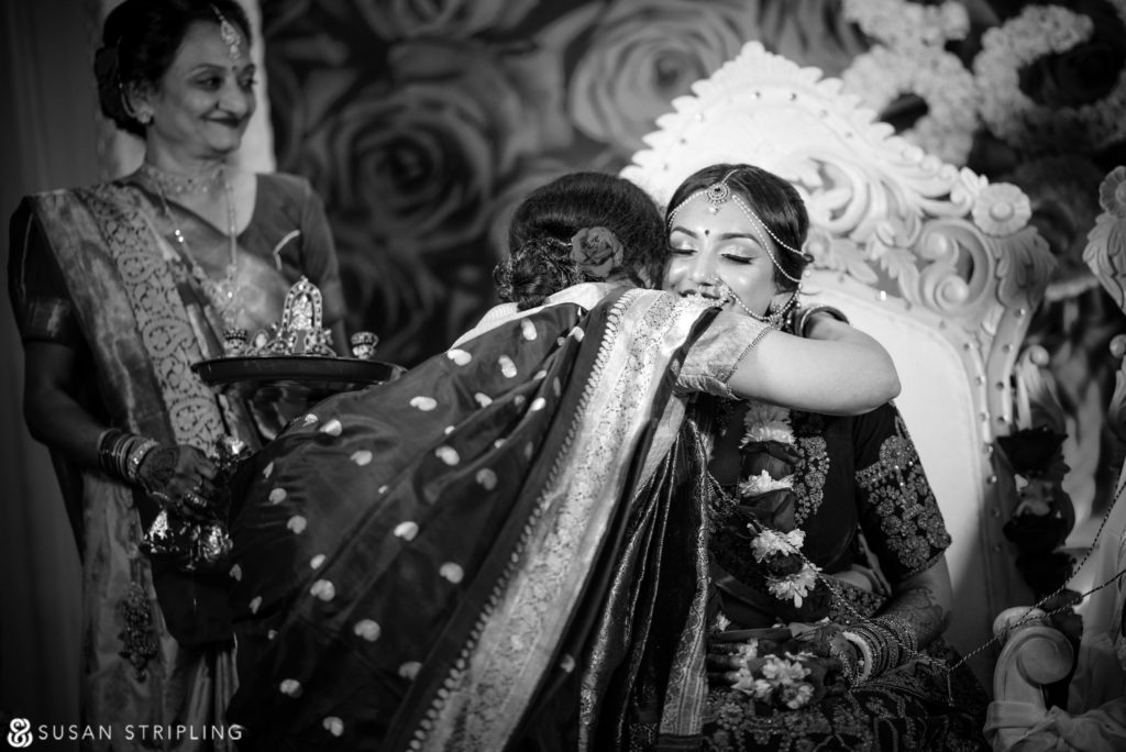 New Jersey Indian Wedding indoor ceremony