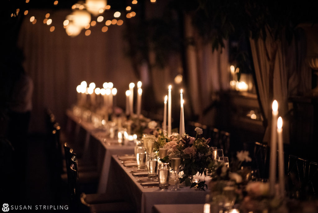 Wedding At The Gramercy Park Hotel Reception Layout