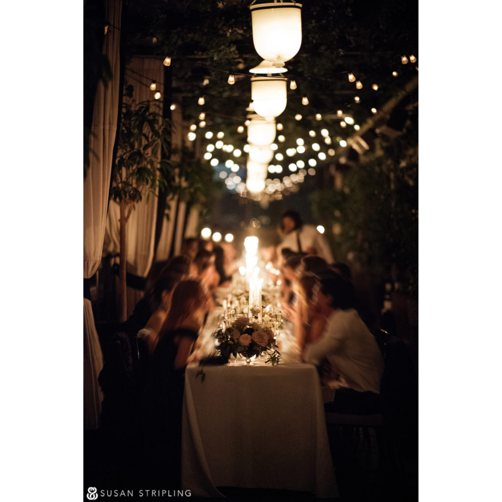candlelit Wedding at the Gramercy Park Hotel