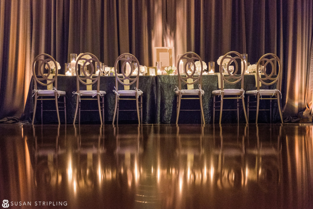 new year's eve wedding reception space