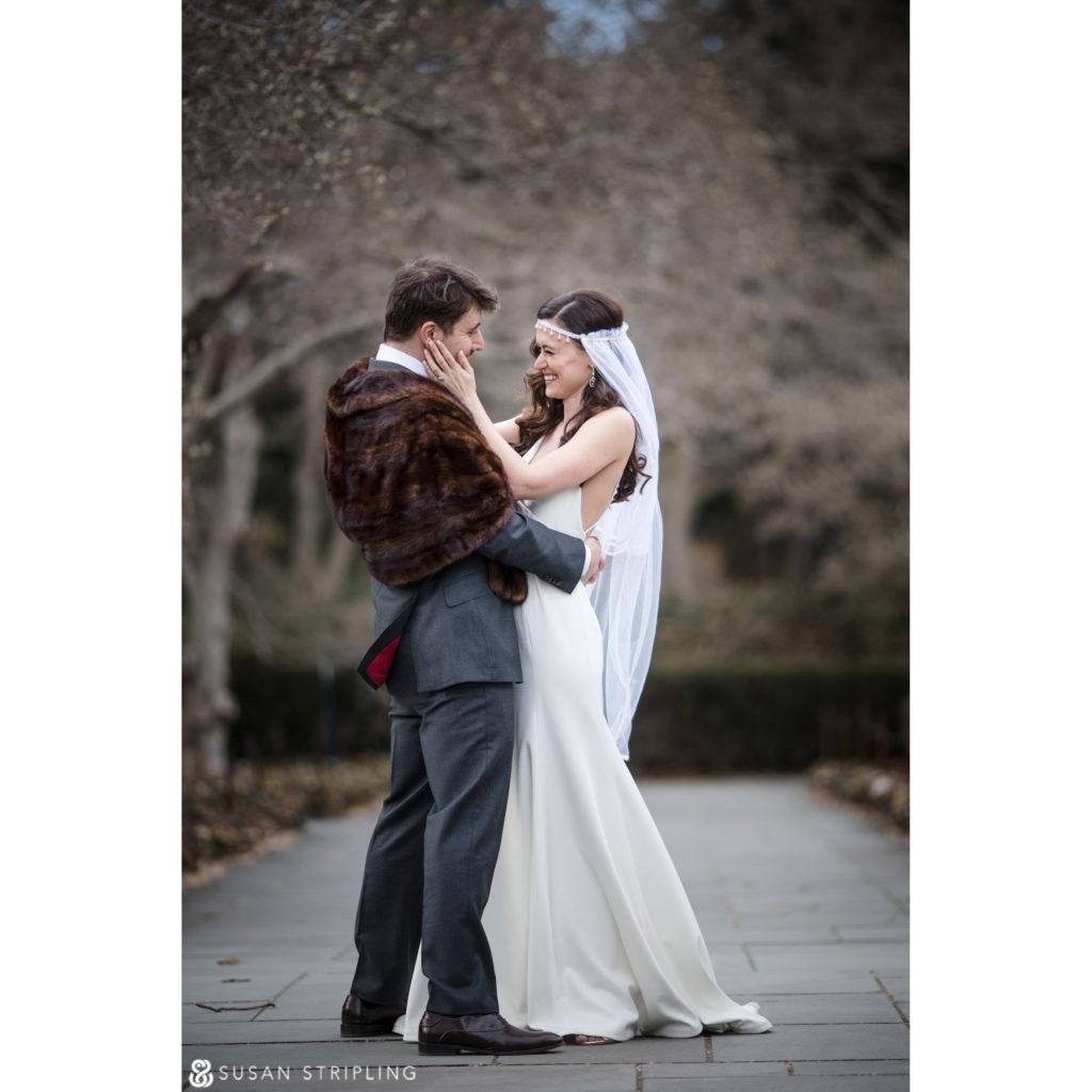winter wedding at the brooklyn botanic garden pics