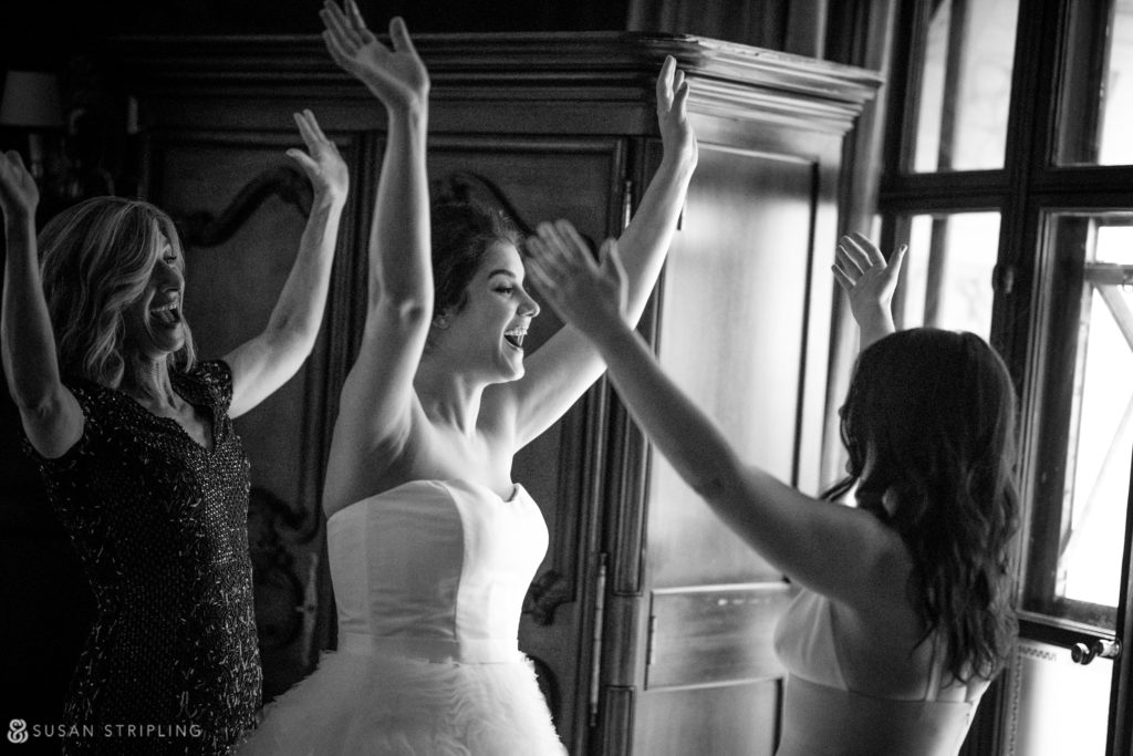 bridal prep at cipriani 42nd street
