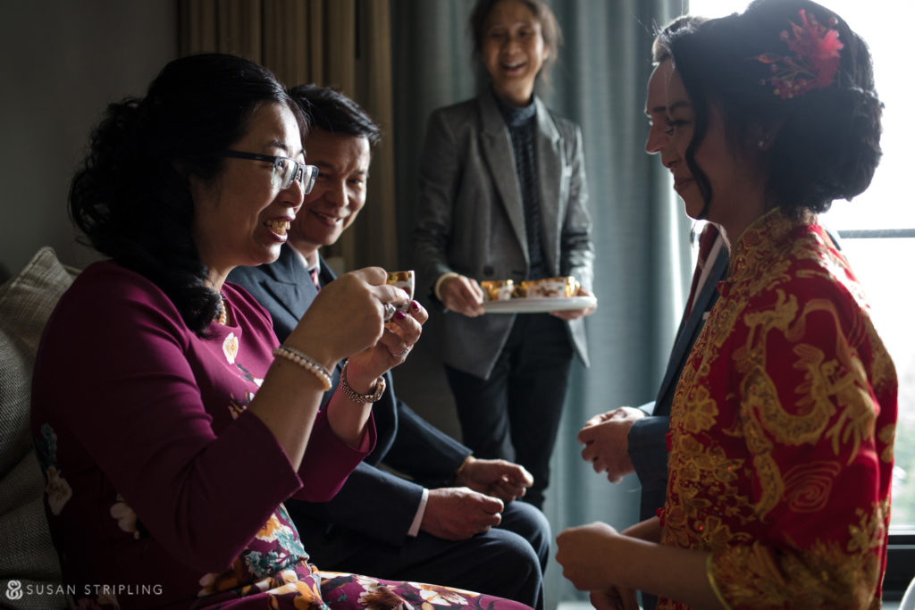 tea ceremony brooklyn wedding