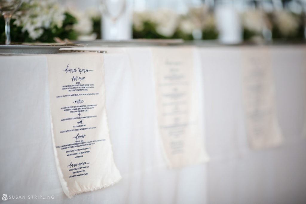 Wedding at the Bridgehampton Tennis and Surf Club decor