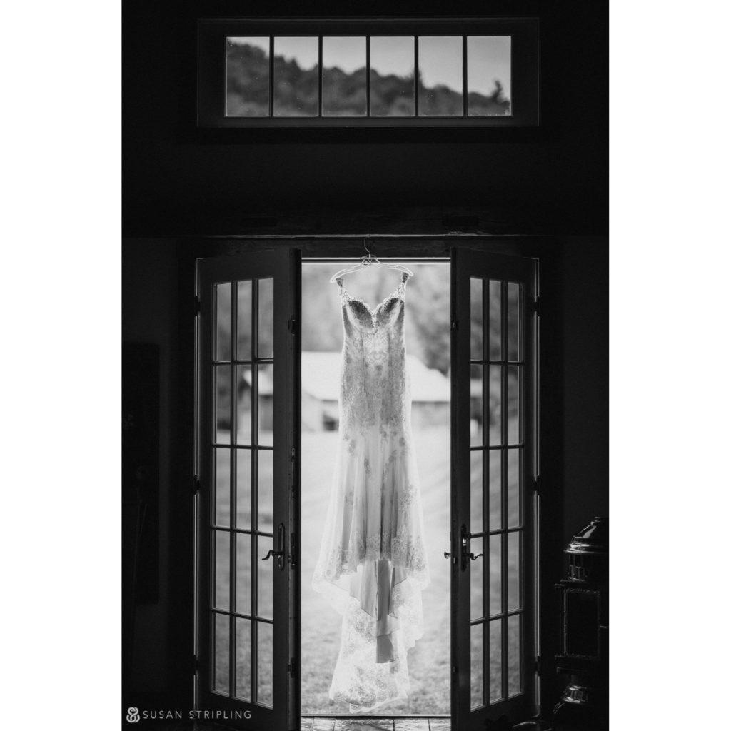 Summer Wedding at Riverside Farm wedding dress
