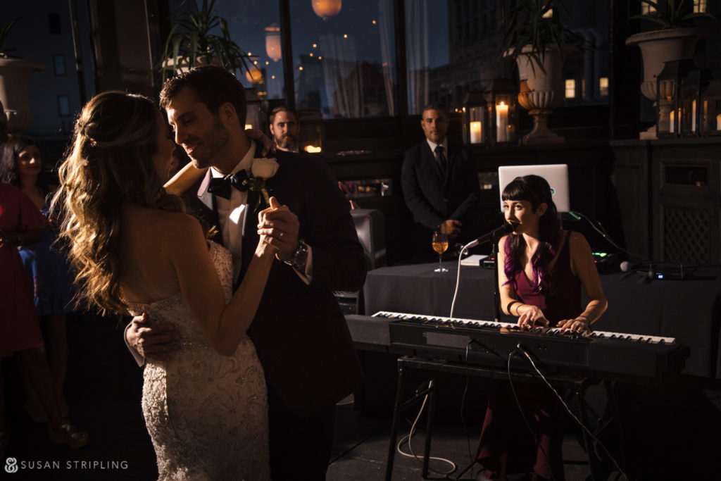 gramercy park hotel wedding reception photo