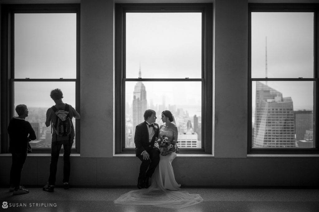 top of the rock wedding photography permit
