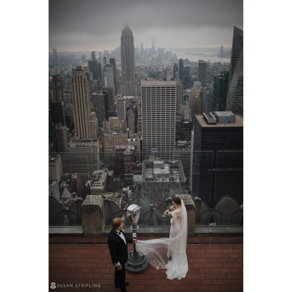 locations for wedding photography top of the rock new york