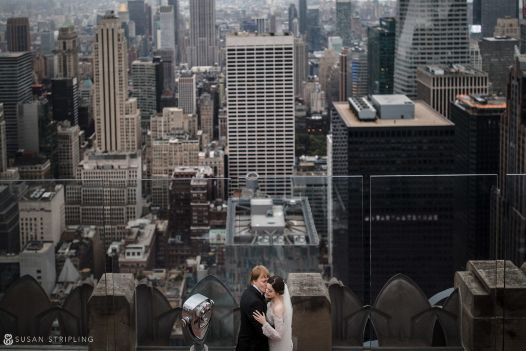 best top of the rock wedding photographer