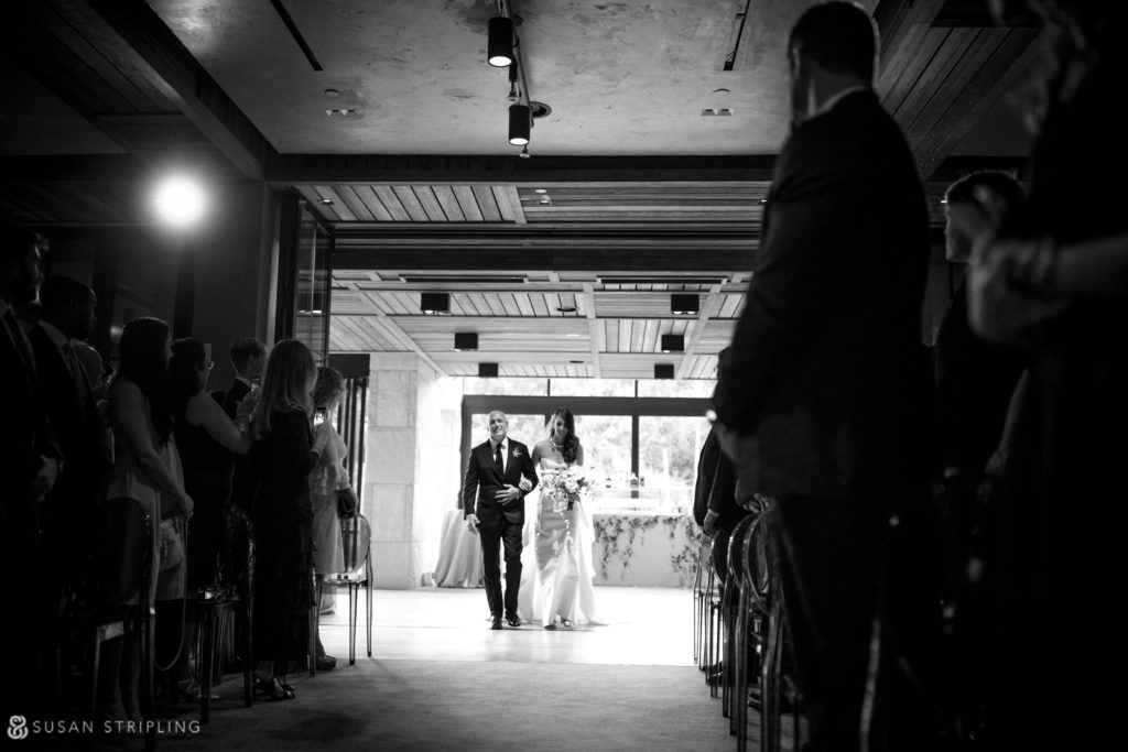 wedding ceremony location indoors at 1 hotel brooklyn bridge