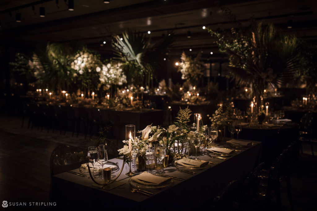 1 hotel brooklyn bridge wedding reception decorations