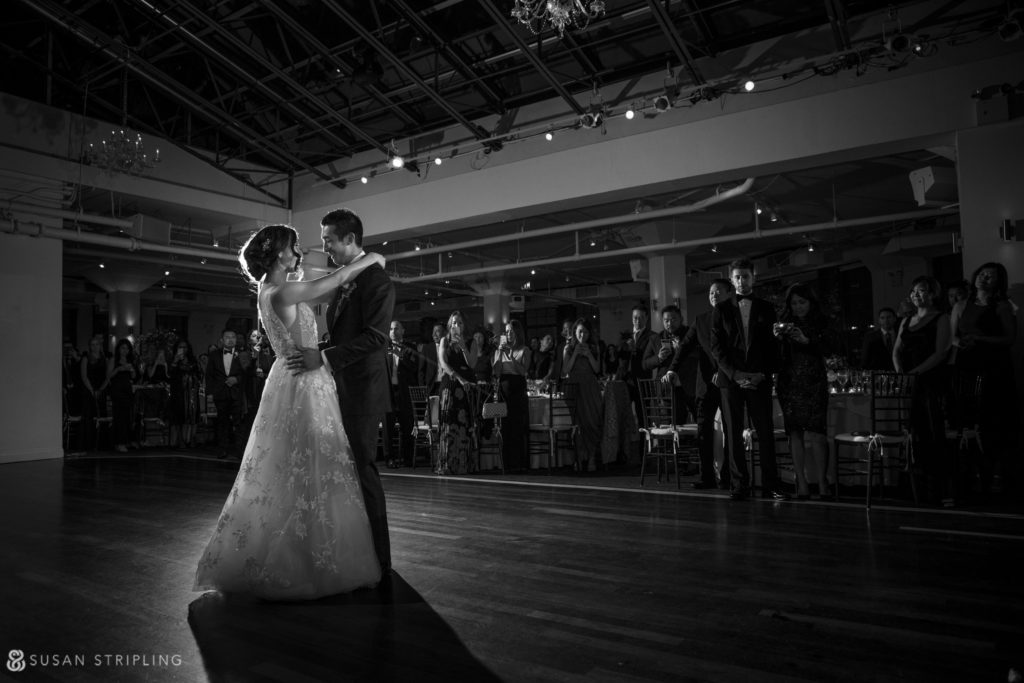 first dance tribeca rooftop wedding