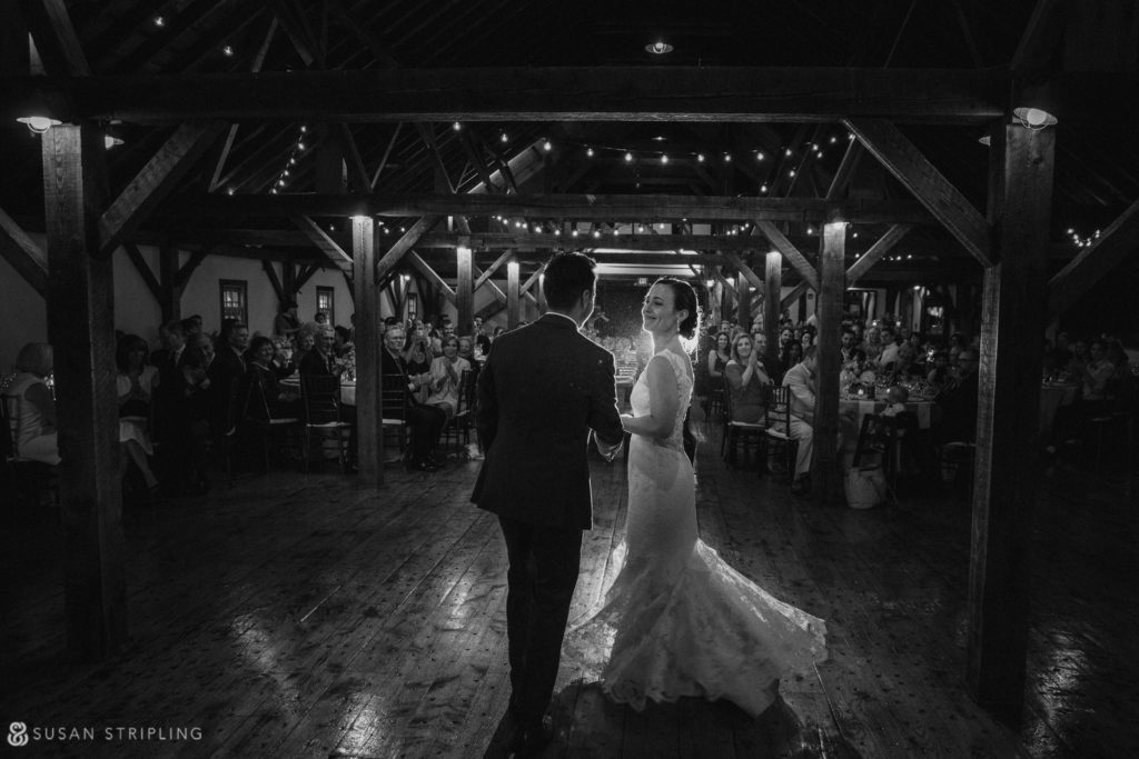 barn riverside farm wedding