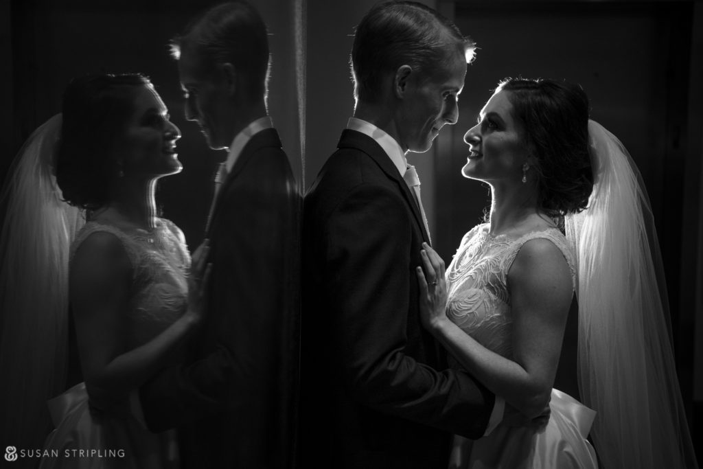 nighttime portraits alfond inn wedding
