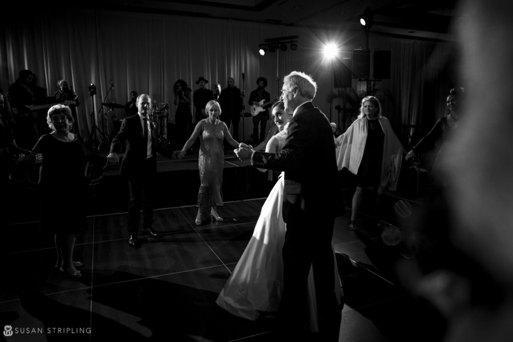 ballroom lighting alfond inn wedding
