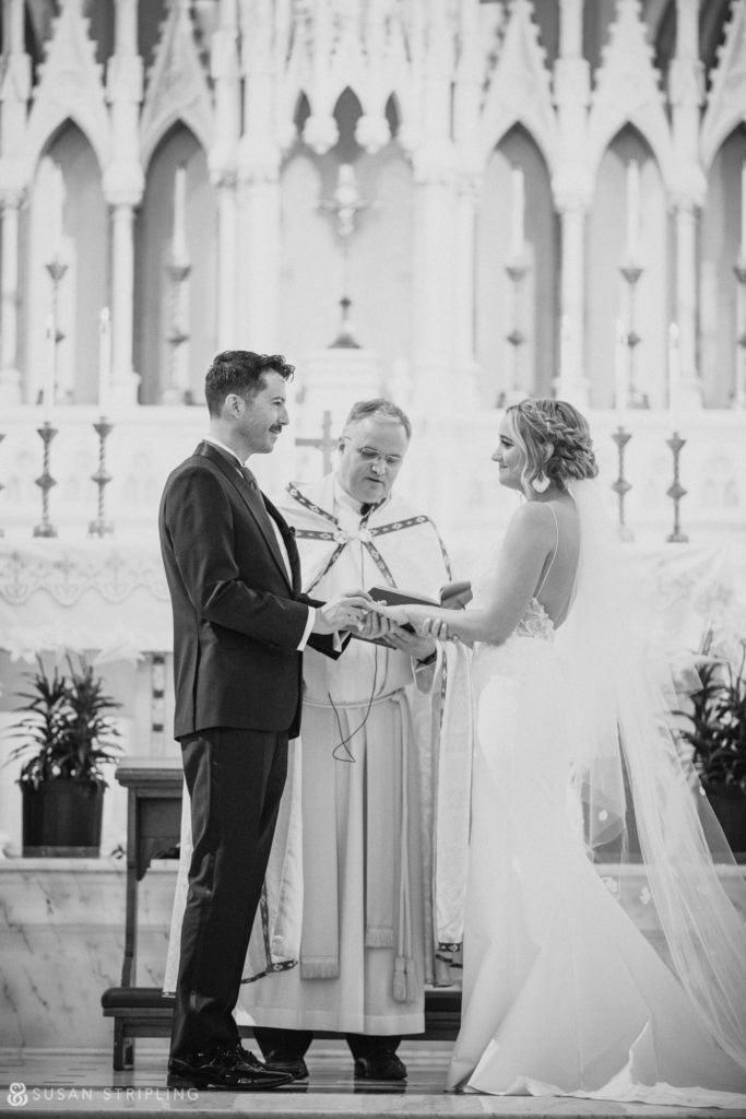 church for philly wedding ceremony