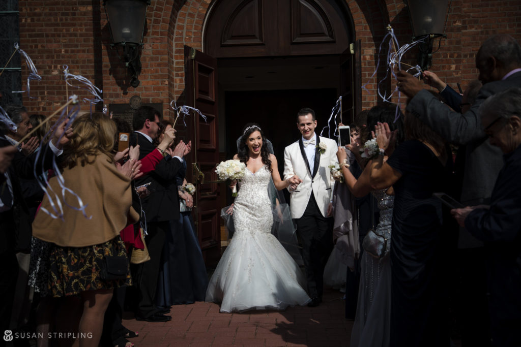 estate at florentine gardens wedding grand exit