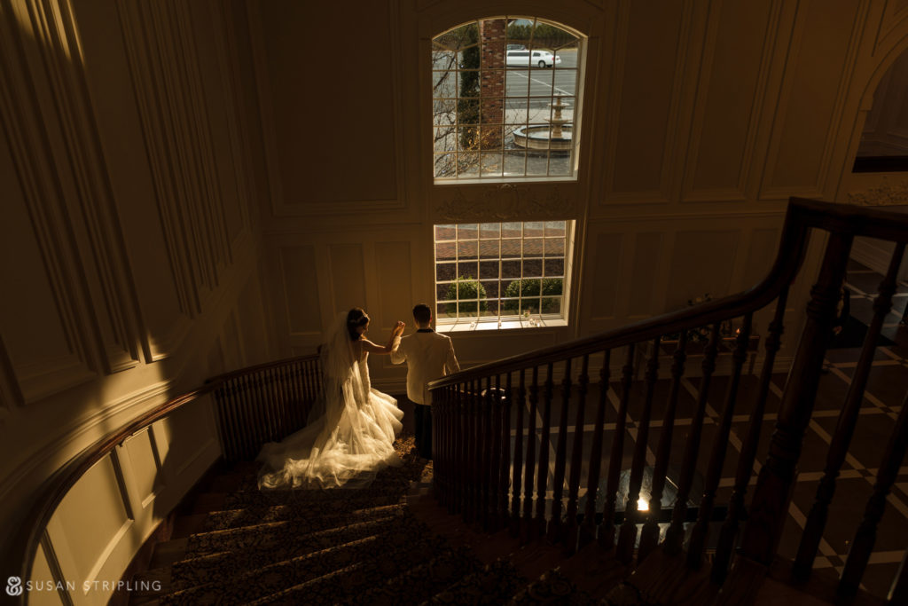 staircase estate at florentine gardens wedding