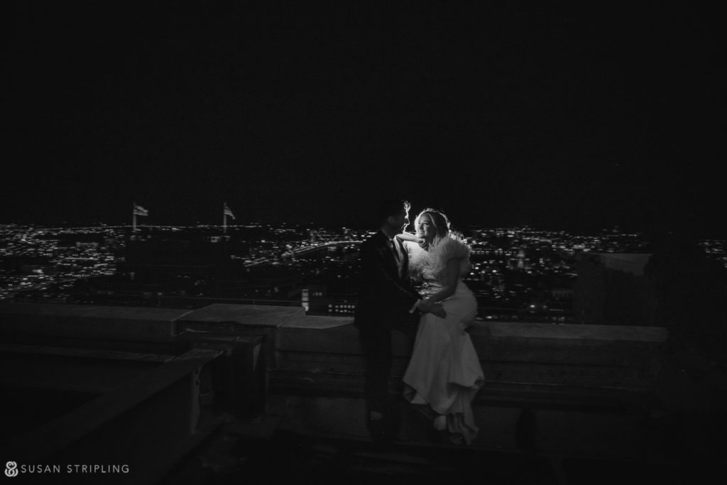 roof pictures loews philadelphia wedding