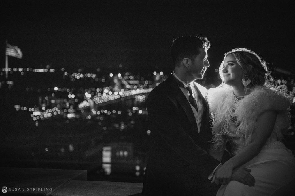 loews philadelphia wedding rooftop
