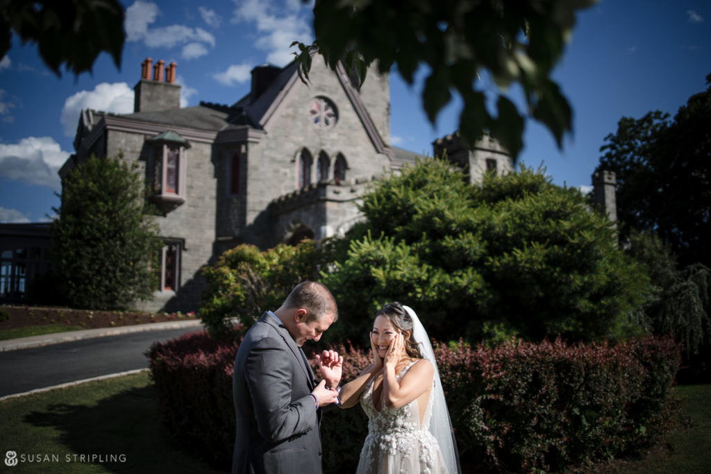 lessings whitby castle wedding the knot