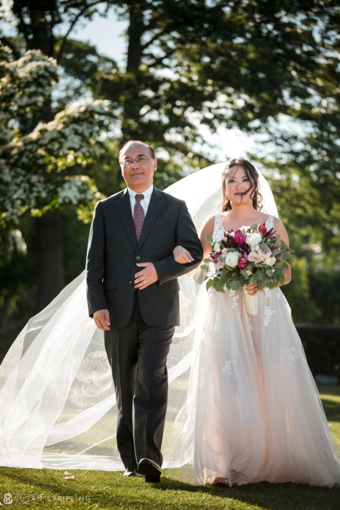 lessings whitby castle wedding outdoor ceremony location