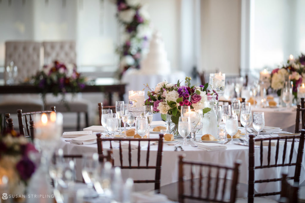 lessings whitby castle wedding reception decor