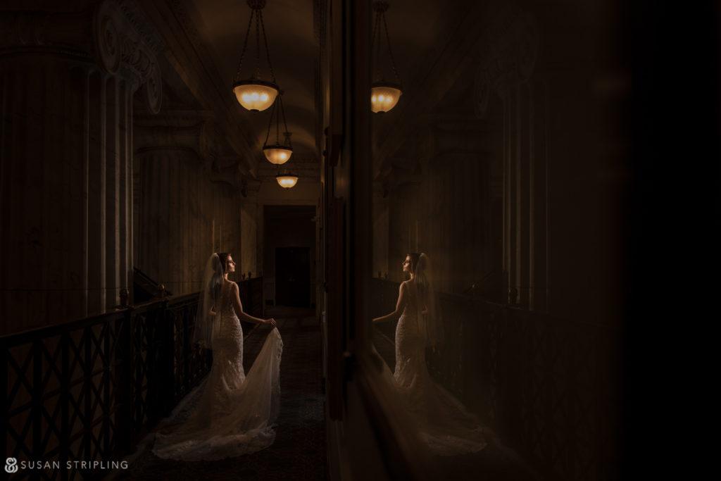 Philly Ritz Carlton Hotel wedding creative photographer