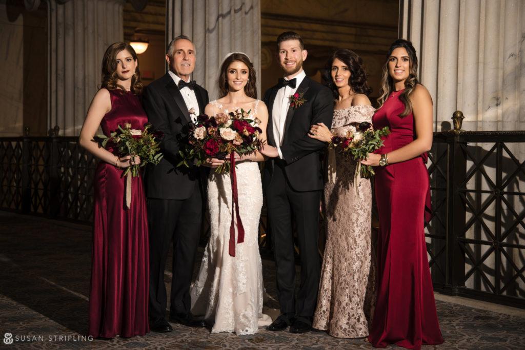 Philly Ritz Carlton Hotel wedding family photo locations