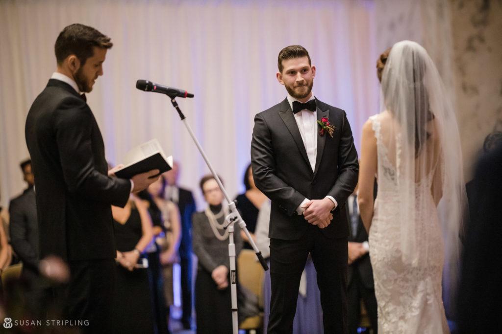 Philly Ritz Carlton Hotel Indoor Wedding Location