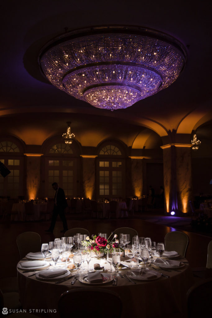 Philly Ritz Carlton Hotel Reception Decor