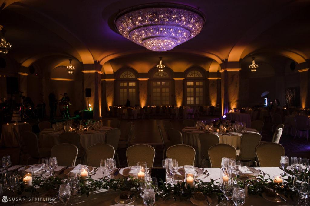 Philly Ritz Carlton Hotel Wedding Ballroom Decor